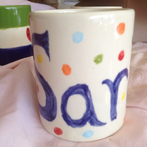 painted clay ceramic pottery painting mug hen party child adult svenoaks kent