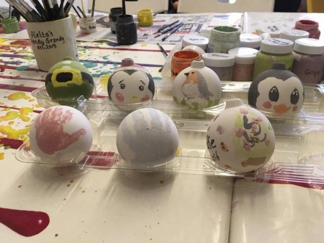 baubles chrismas clay ceramic pottery painting glaze firing sevenoaks kent
