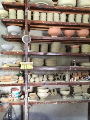 pottery glaze bisque clay ceramic sevenoaks kent wokshop