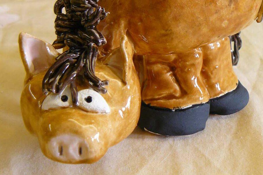 clay ceramic pottery workshop child horse sevenoaks kent