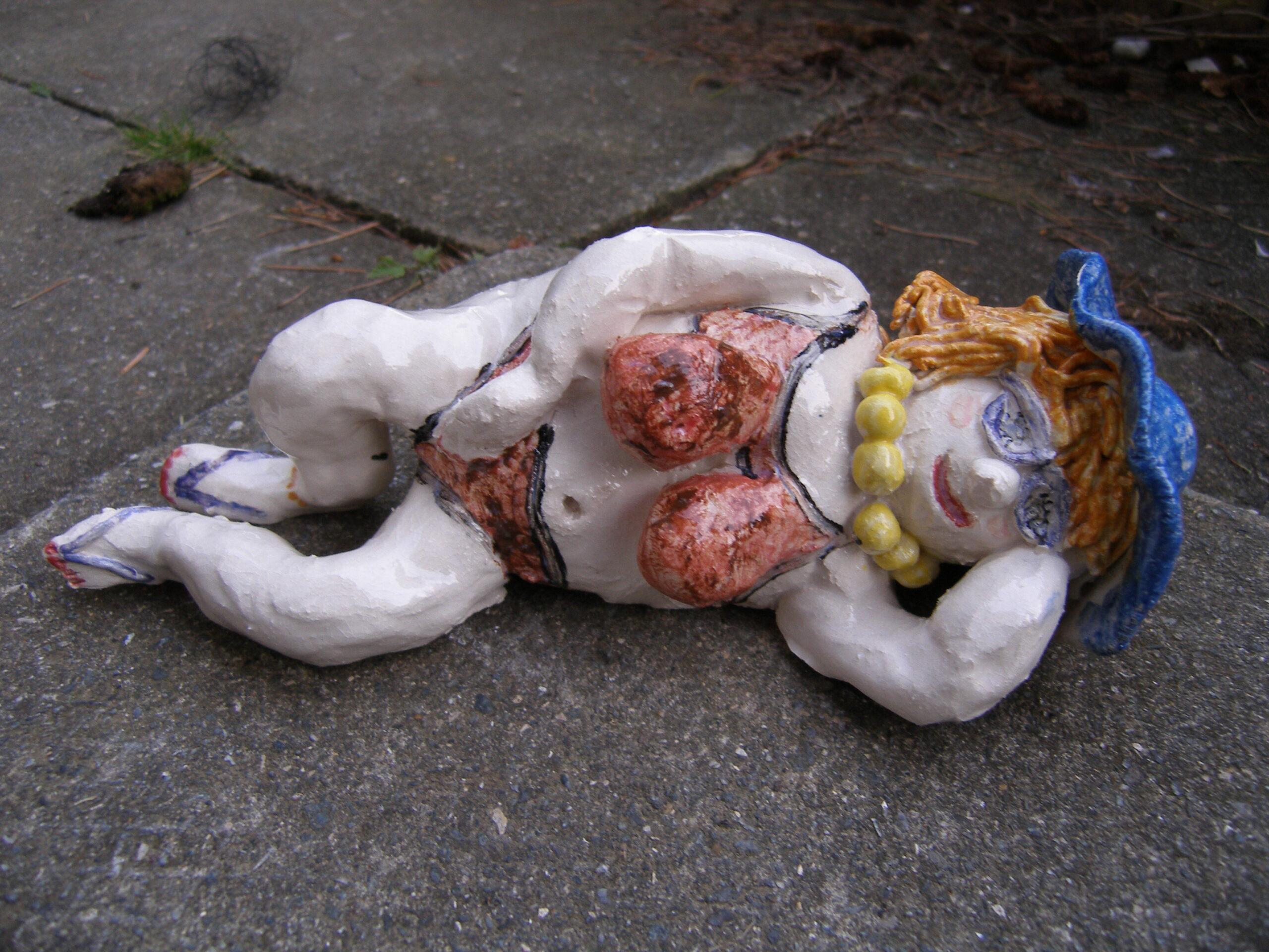 adult evening fat lady clay pottery ceramic fun workshop sevenoaks kent
