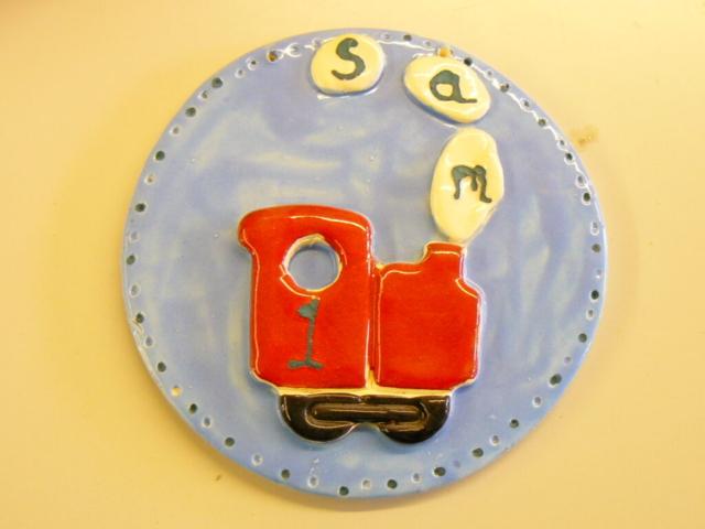 toddler party train clay ceramic pottery party sevenoaks kent