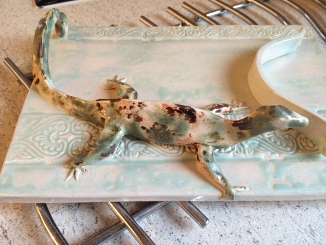 clay pottery ceramic dinosaur hand made workshop child