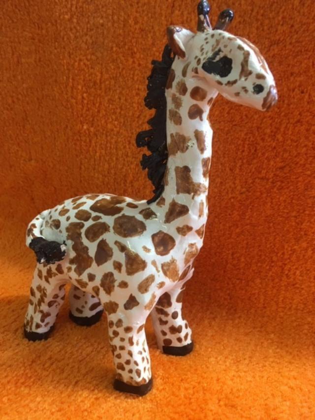 hand made giraffe workshop clay ceramic pottery sevenoaks